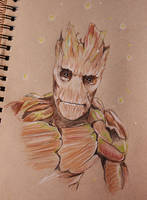 I am Groot by piratebutl23