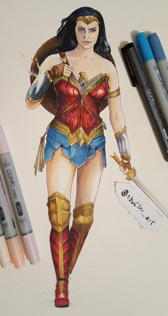 Wonder Woman by piratebutl23