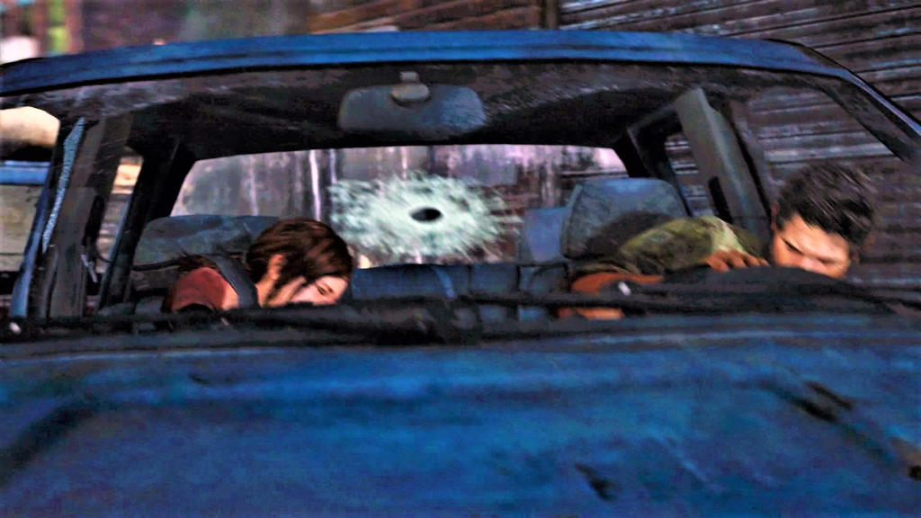 THE LAST OF US: PART 198 - CAR CRASH 2 by CommanderKorra on