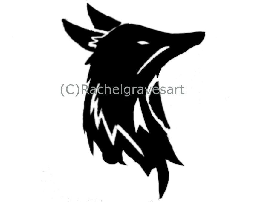 Tribal fox racing tattoo