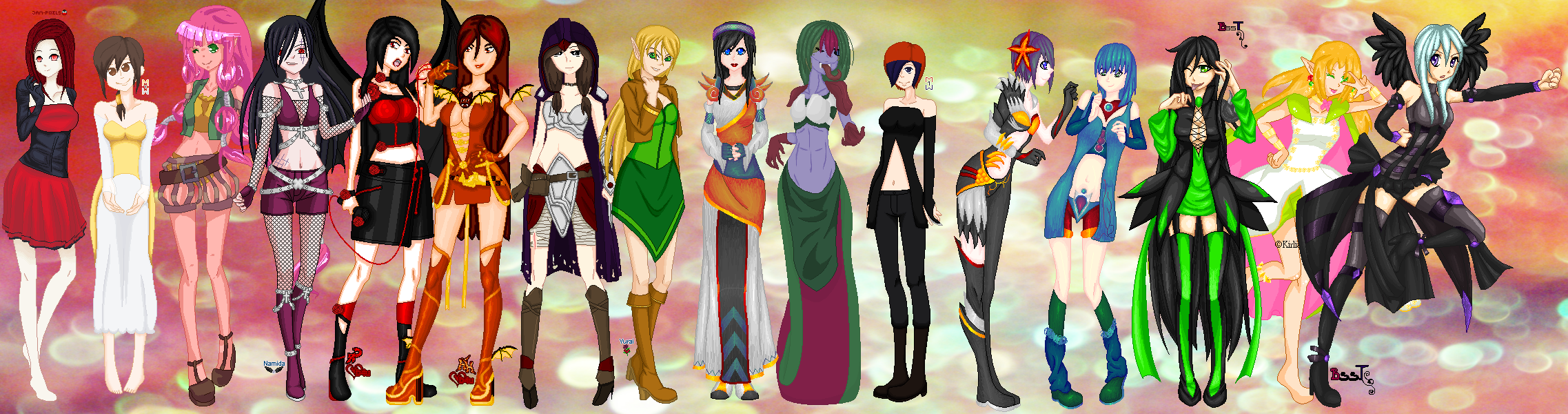 .:COLLAB:DONE:. Costume Parade