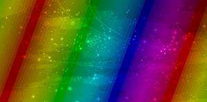 Rainbow free background
