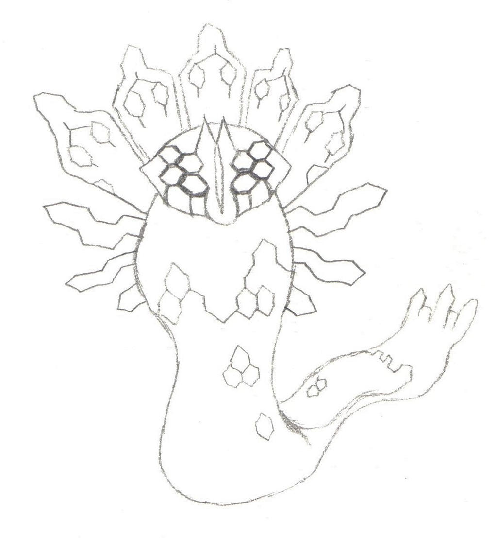 pokemon zygarde coloring pages - photo#25