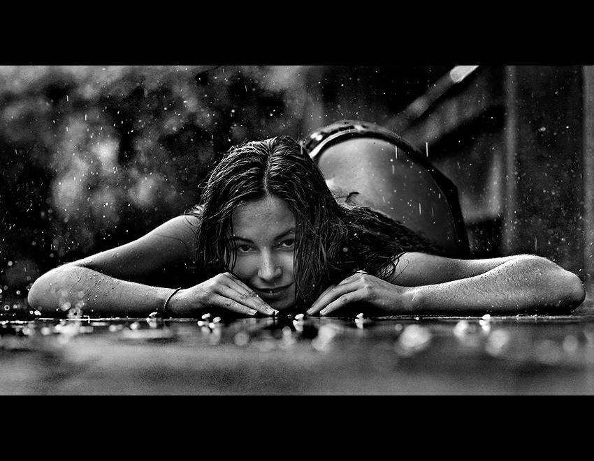torrential rain by Sordyl