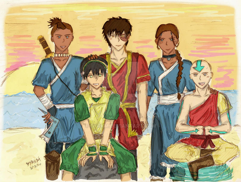 avatar - the gaang .color.