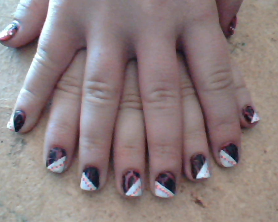 Nail design with crackle enamel nail polish by experimently nail design with crackle enamel nail polish by experimently bernsie prinsesfo Choice Image