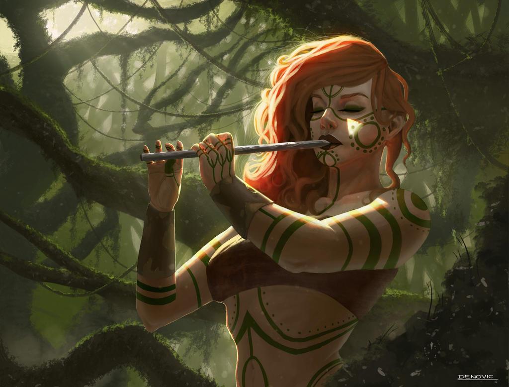 Isara's flute by ivonadenovic
