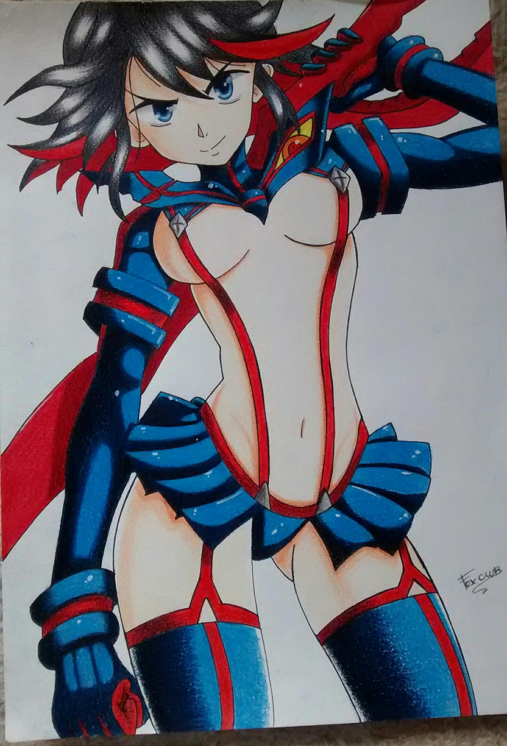 Matoi Ryuko  by FOXCWB