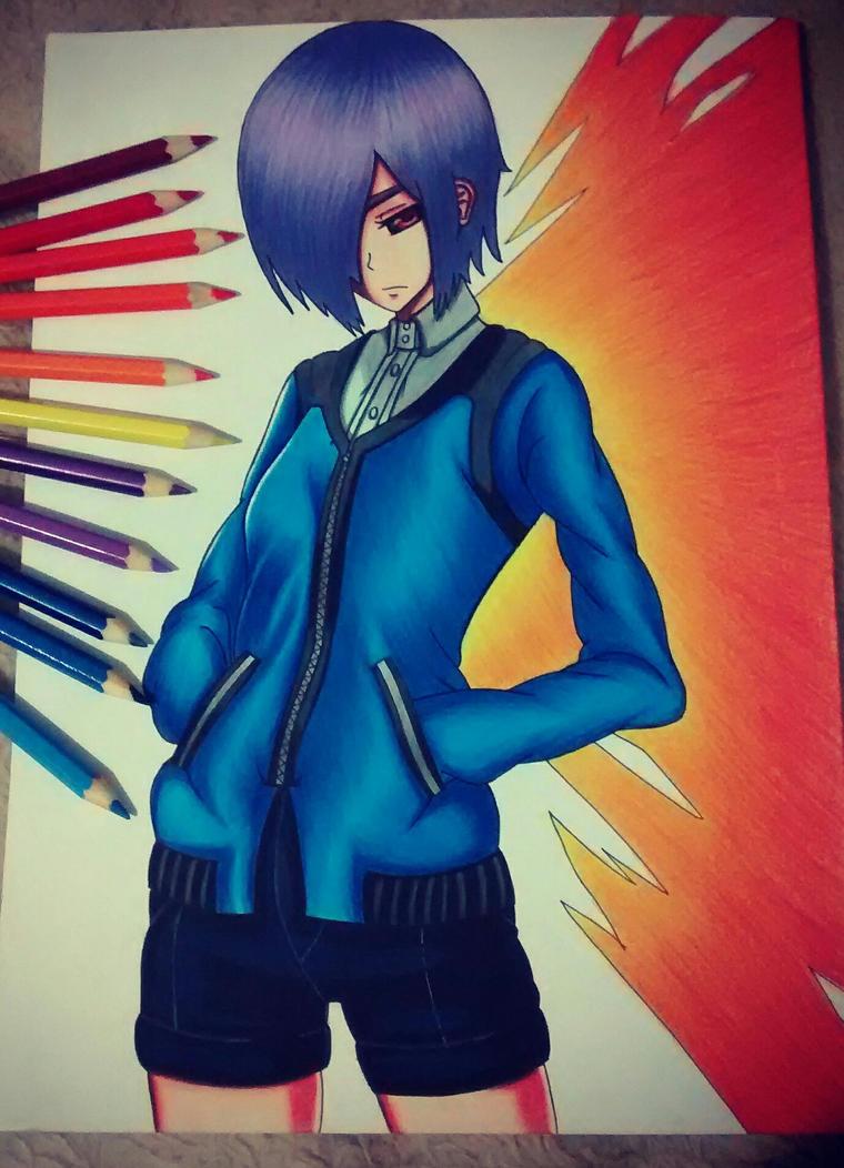 Touka chan :3 by FOXCWB