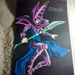 Dark magician (: by FOXCWB