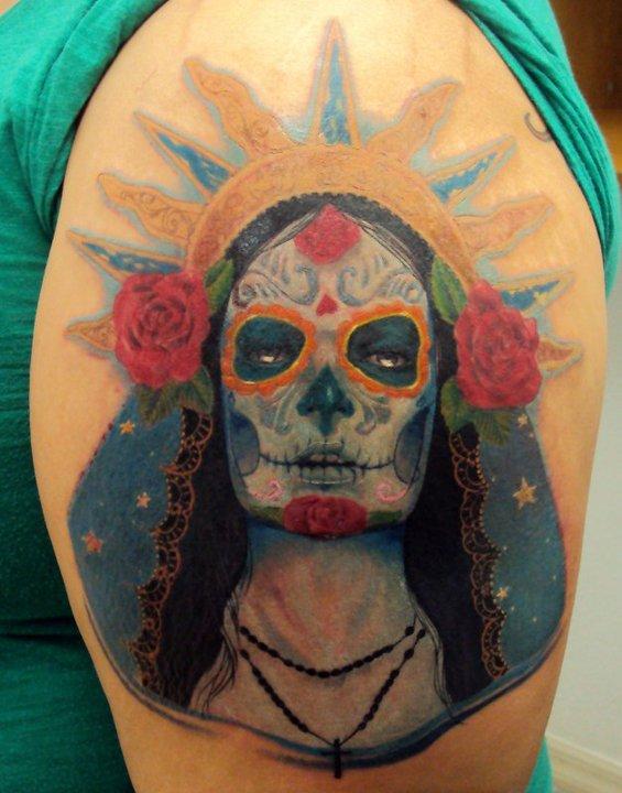 Sylvia ji tattoo by isaacectattoo on deviantart for Tattoo shops in el cajon