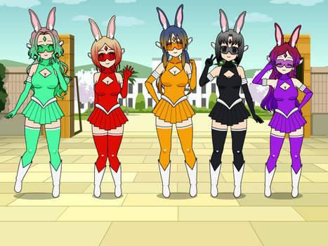 Cyber Bunny sentai