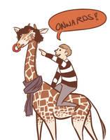 Sherlock is a giraffe now by derpana