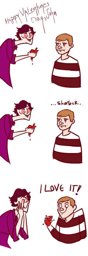 SHERLOCK GIVES JOHN HIS HEART