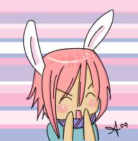 Chibi Bunny Boy by kuragami