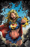 Supergirl - Adriano by clondike7