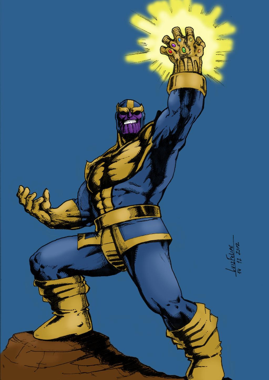 Thanos by Ygor-oraculo