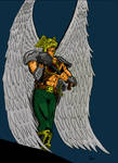 Hawkman (digital colors)