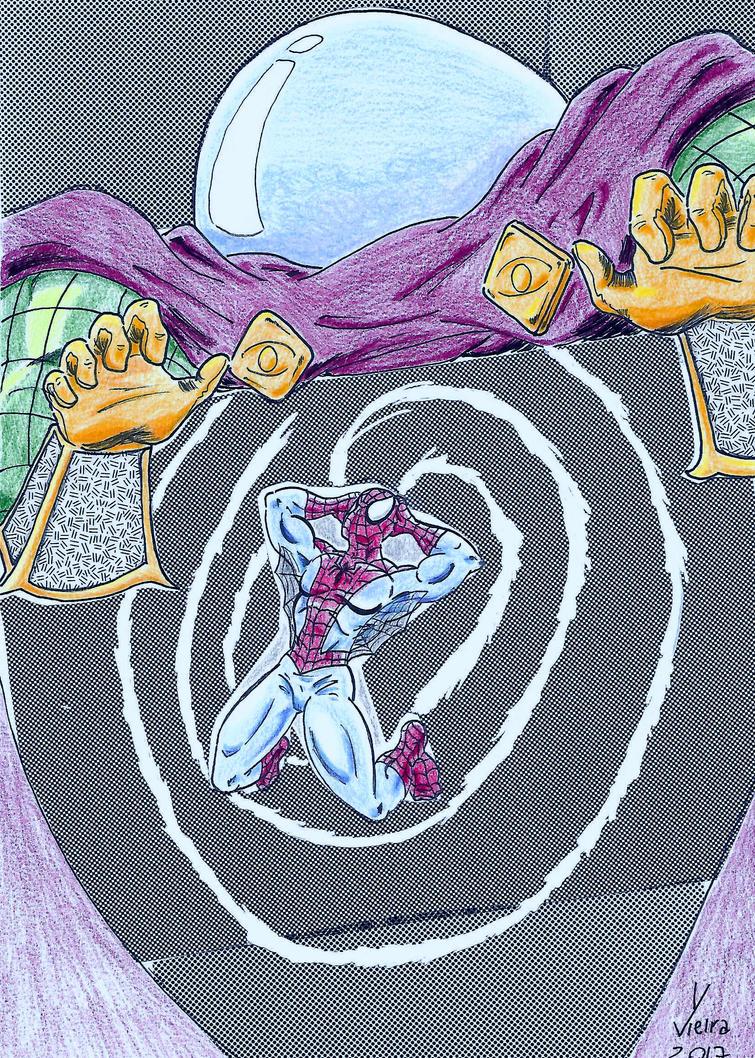 Spider-Man vs Mysterio by Ygor-oraculo