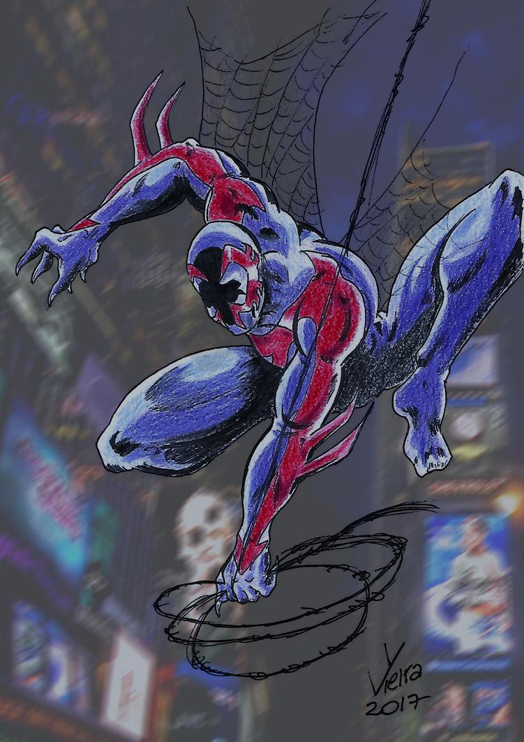 Spider-Man 2099 by Ygor-oraculo