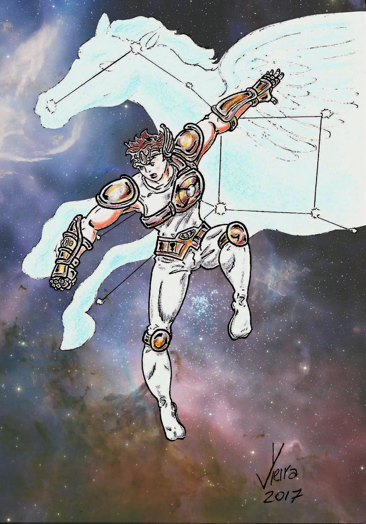 Pegasus Seiya by Ygor-oraculo