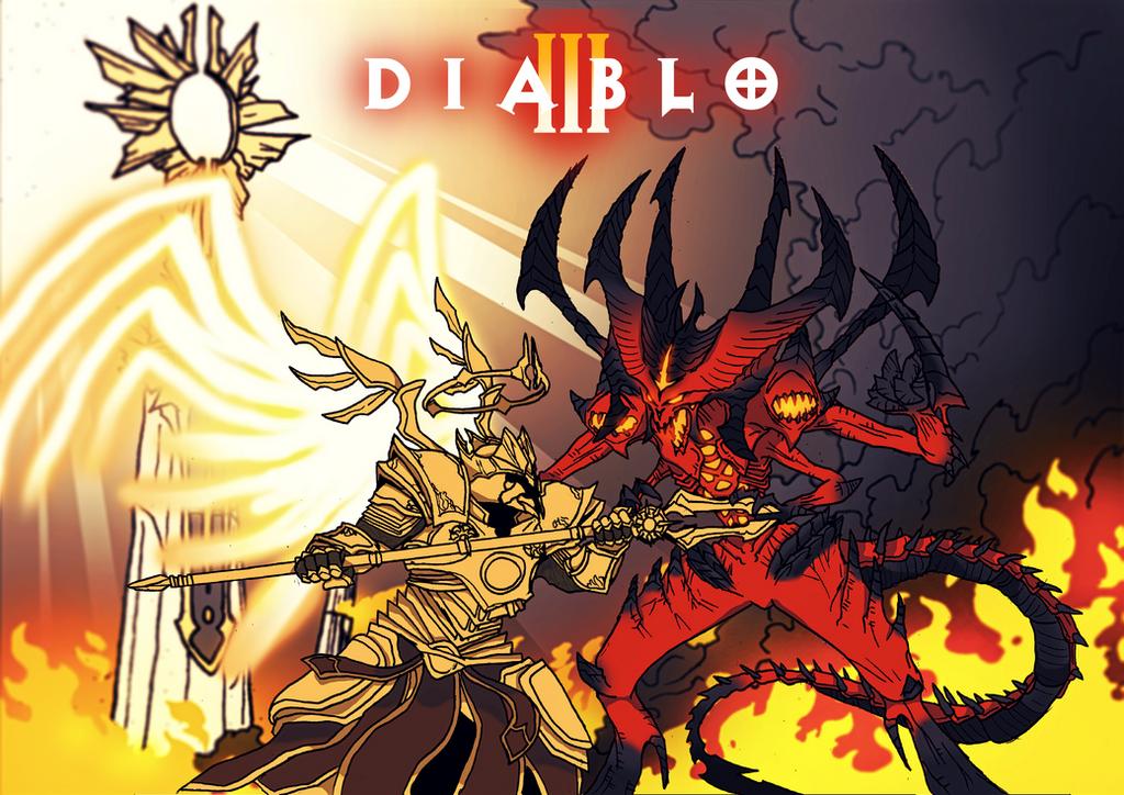 Diablo 3... | Tattoo ideas | Pinterest | Chang'e 3, Black ...  |Diablo Iii Poster