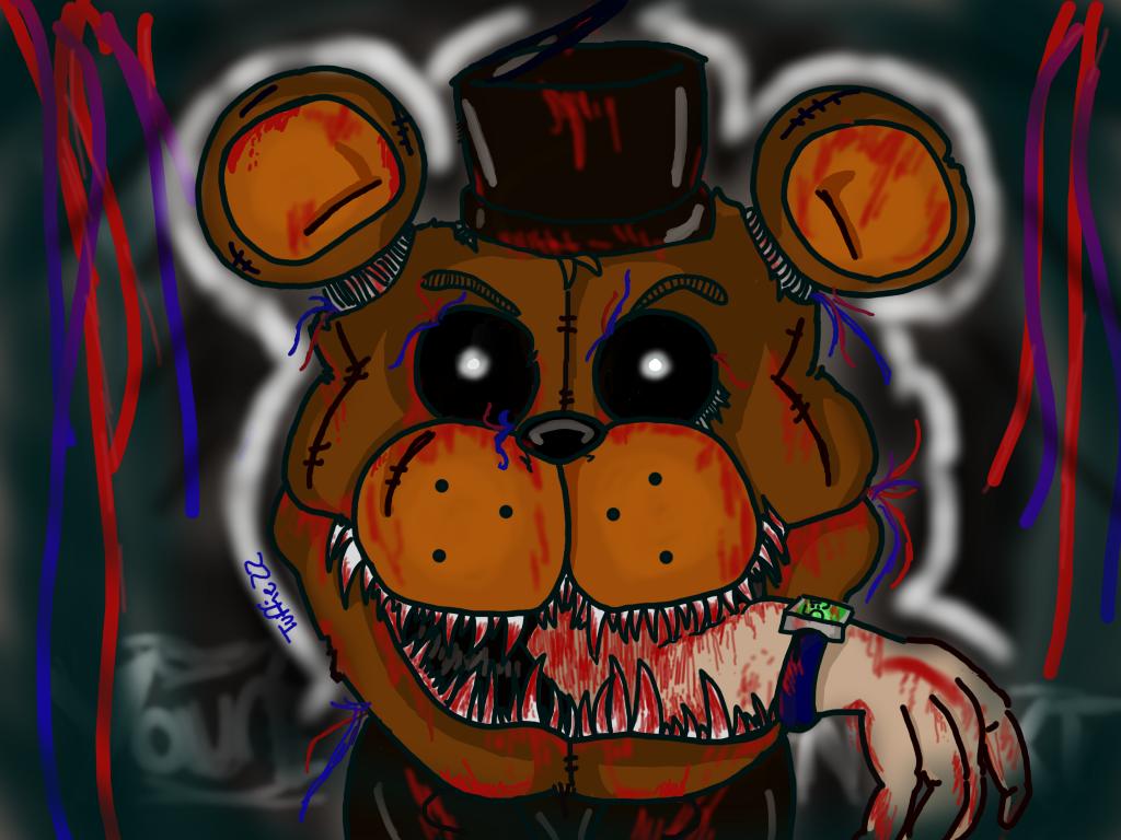 Freddy fazbear you re next by tuffiezz on deviantart