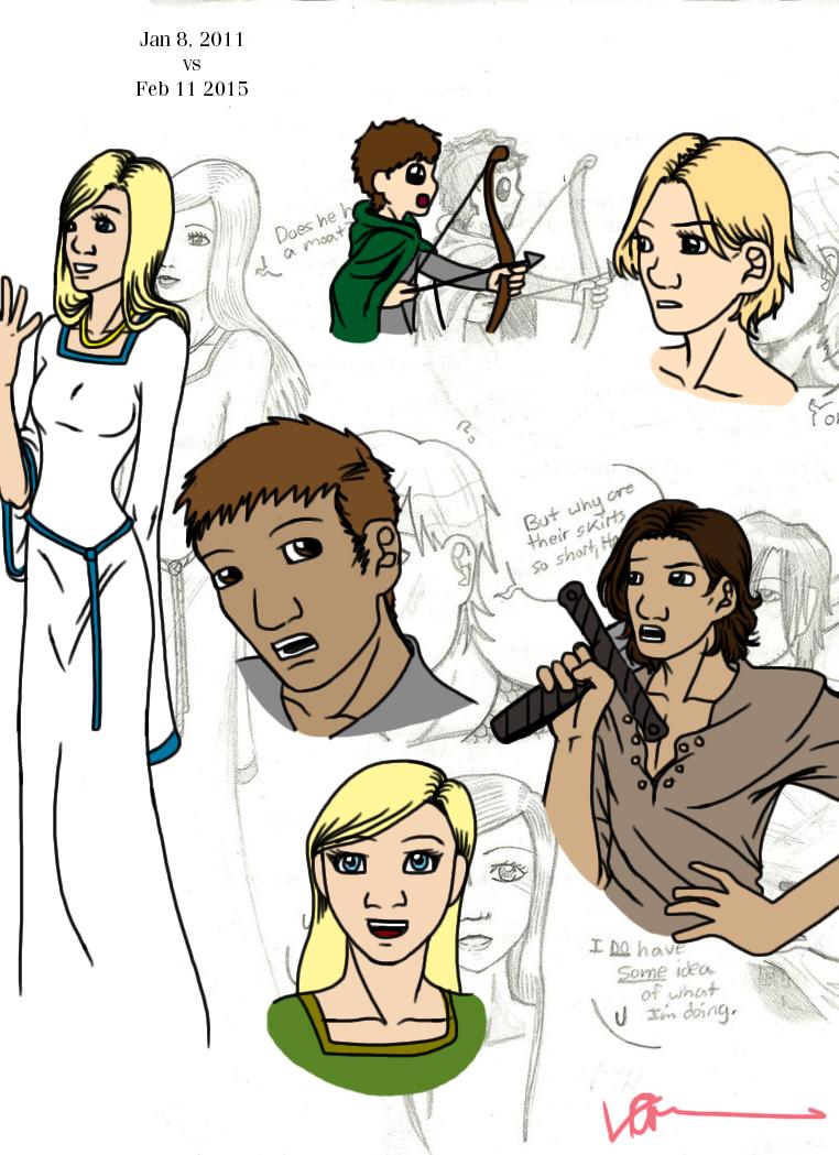 Ranger's Apprentice Doodles 2 by EveryDayArtist