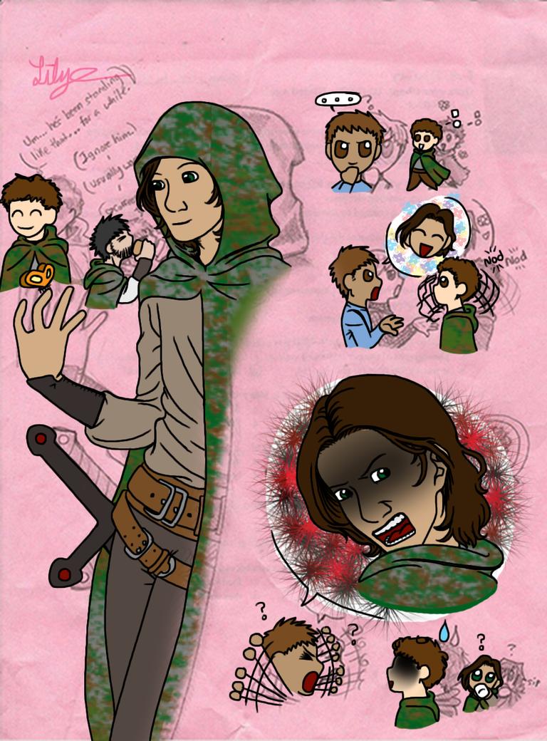 Ranger's Apprentice Doodles 3 by EveryDayArtist