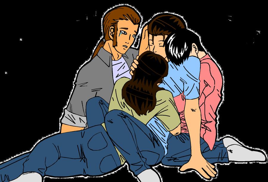 Much Deserved Cuddle by EveryDayArtist