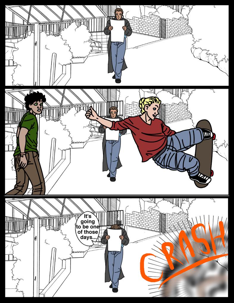 MU page 12: One Of Those Days by EveryDayArtist