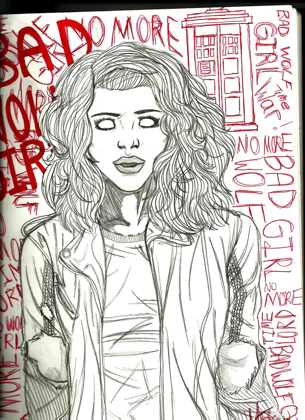 Bad Wolf Girl by EveryDayArtist