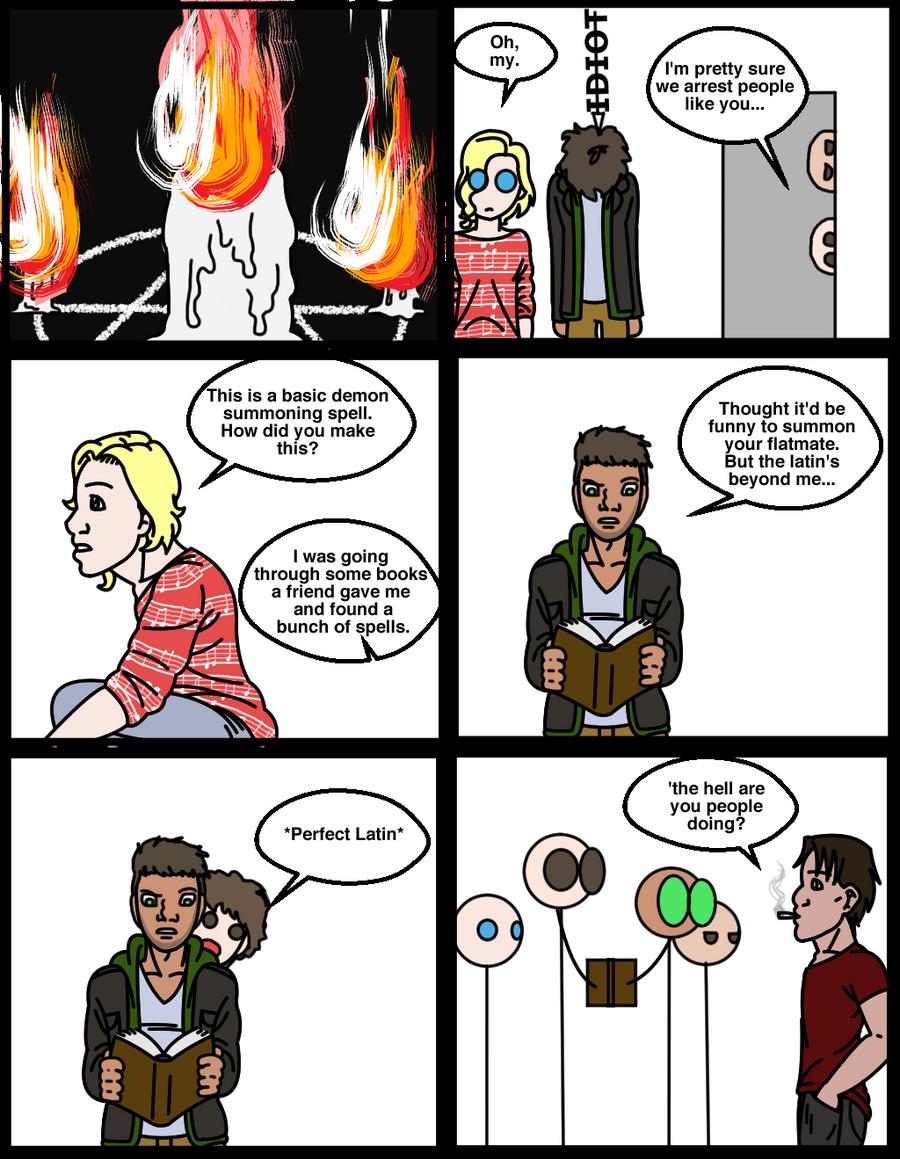 MU page 27: Spell Work by EveryDayArtist