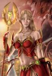 Bloodelf Priest by Winterlavendel