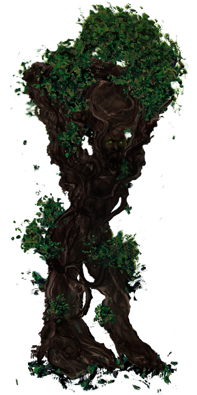 Dark Forest Monster 1 By Commissionsnow On Deviantart