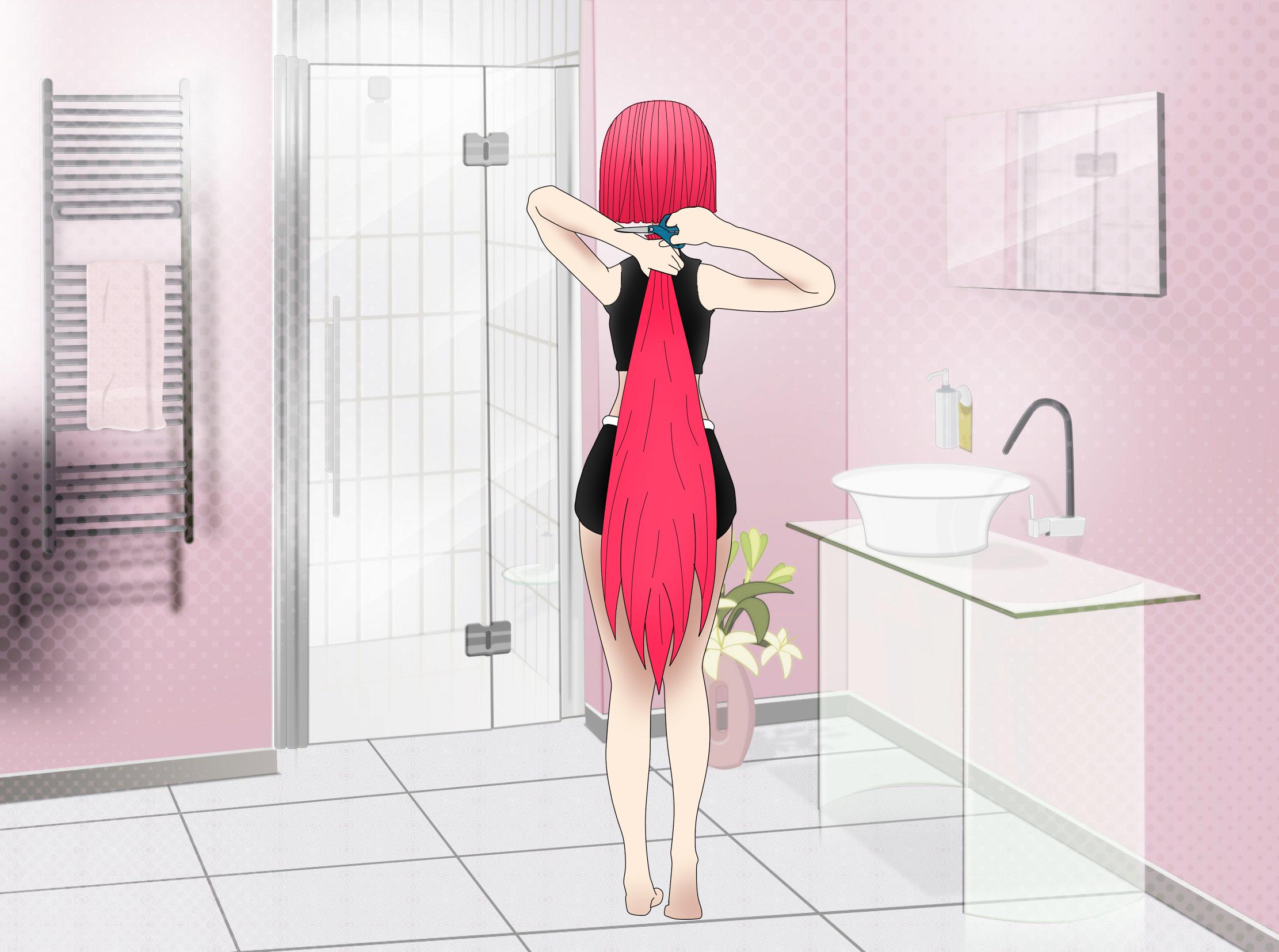 Anime Girl Haircut 4 By Ropa111 On Deviantart