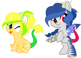 Shipping Timee Request : LunaCord + DiscoJack by Cheschire-Kaat