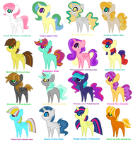The Shipping Adoptable Collection - batch 1 by Cheschire-Kaat