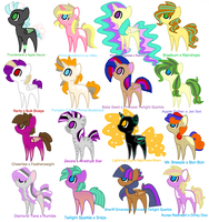 The Shipping Adoptable Collection - batch 2 by Cheschire-Kaat