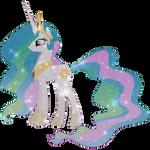 Galaxy Princess Celestia
