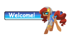 GIFT: Welcome Sign for kilala97