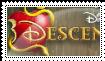 Stamp:   Disney Descendants by Cheschire-Kaat