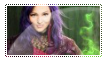Stamp:   Disney Descendants - Mal by Cheschire-Kaat
