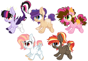 Adoptables AUCTION - Lopoddity's Ships *CLOSED* by Cheschire-Kaat