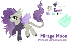 NG Mirage Moonlight - Reference Sheet by Cheschire-Kaat