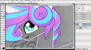 WIP - Flurry Heart by Cheschire-Kaat