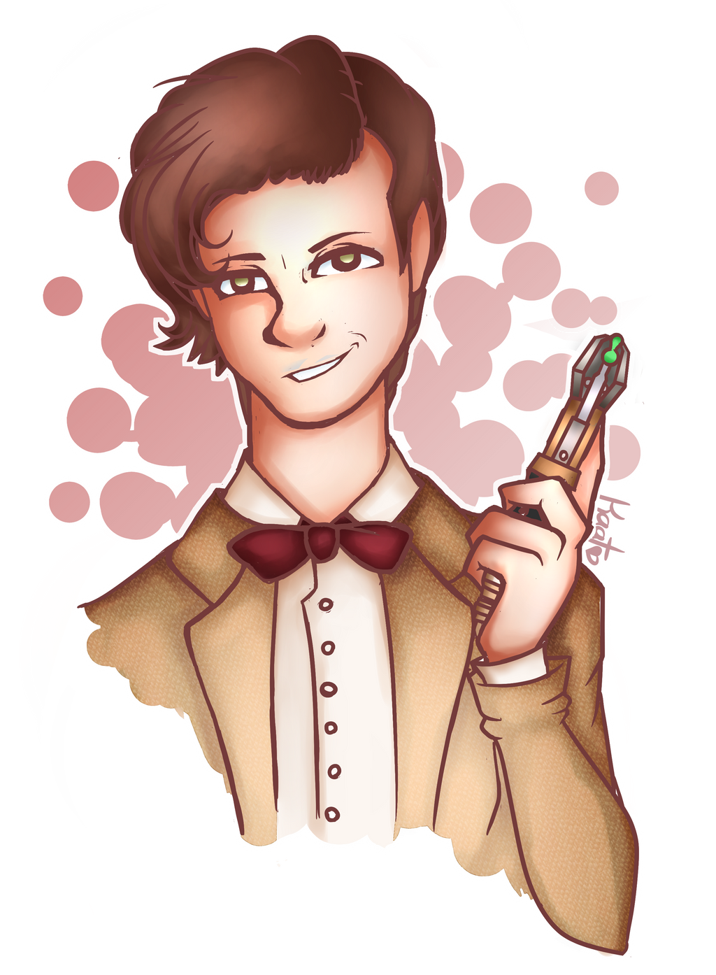 The Eleventh Doctor by Cheschire-Kaat