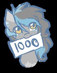 1000 watchers!