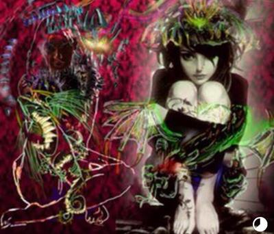 Demons latching on by bansheekin