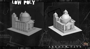 arkham city building